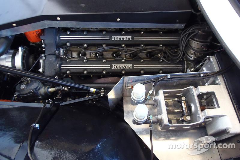 Classic Ferrari engine detail