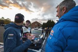 Sébastien Ogier con Jari-Matti Latvala, Volkswagen Motorsport