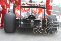 Ferrari SF15-T di Kimi Raikkonen, Ferrari, raccolti dati aerodinamici