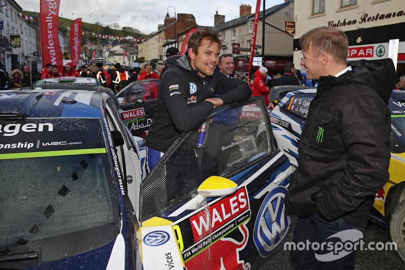 Andreas Mikkelsen, Volkswagen Motorsport con Petter Solberg