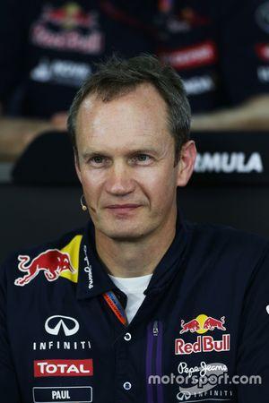 Paul Monaghan, Ingénieur en chef Red Bull Racing lors de la Conférence de presse de la FIA