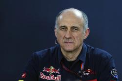 Франц Тост, руководитель Scuderia Toro Rosso Team на пресс-конференции FIA