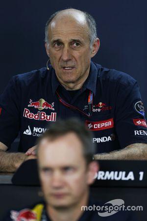 Franz Tost, Scuderia Toro Rosso Team Principal lors de la Conférence de presse de la FIA