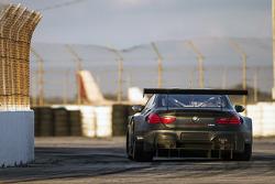 宝马 M6 GTLM 测试中