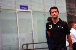 Jolyon Palmer, Pilote de réserve et d'essais Lotus F1 Team