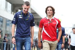 Raffaele Marciello, Pilotes de réserve et d'essais Sauber F1 Team avec Roberto Merhi, Manor Marussia F1 Team