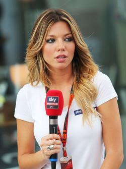 Федерика Масолин, ведущий Sky F1 Italia