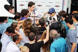 Felipe Massa, Williams avec la presse