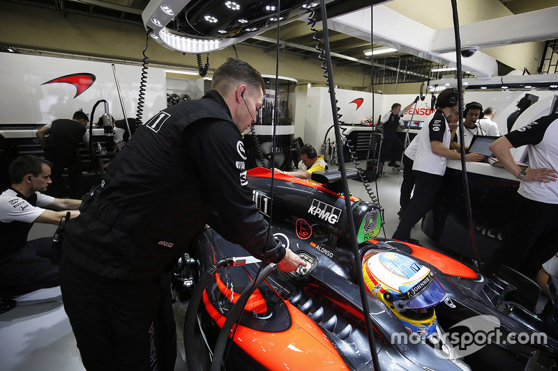 Фернано Алонсо, McLaren
