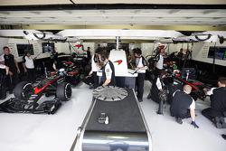 Fernando Alonso, McLaren and Jenson Button, McLaren MP4-30