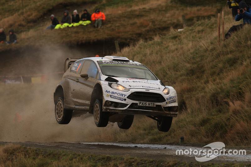 Отт Танак та Молдер Райго, M-Sport Ford Fiesta WRC