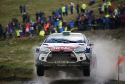 Mads Ostberg und Jonas Andersson mit Kris Meeke and Paul Nagle, Citroën World Rally Team