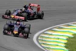 Max Verstappen, Scuderia Toro Rosso e Carlos Sainz Jr., Scuderia Toro Rosso
