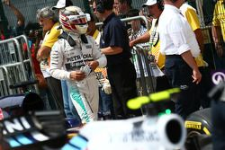 排位赛第二名刘易斯·汉密尔顿,梅赛德斯W06