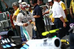 Segundo lugar de la clasificación Lewis Hamilton, Mercedes AMG F1 W06