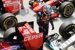 Даниэль Риккардо, Red Bull Racing в закрытом парке