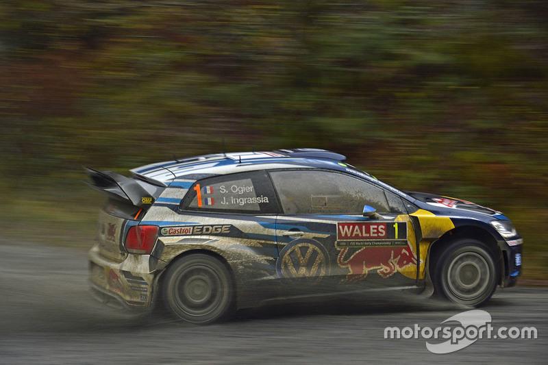 2015: Себастьен Ожье, Volkswagen Polo R WRC