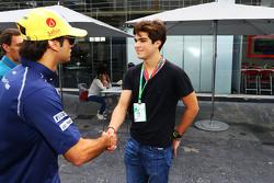 Felipe Nasr, Sauber con Pedro Piquet, Racing piloto e hijo de Nelson Piquet