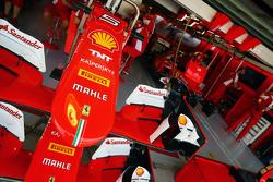 Ferrari SF15-T cono de nariz