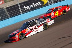Austin Dillon, Richard Childress Racing Chevrolet and Ross Chastain, JD Motorsports Chevrolet