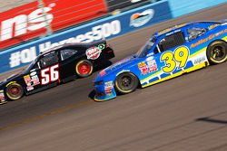 Ryan Sieg, RSS Racing Chevrolet and Timmy Hill, Rick Ware Racing Ford