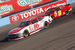 Ryan Reed, Roush Fenway Racing Ford y Harrison Rhodes, JD Motorsports Chevrolet