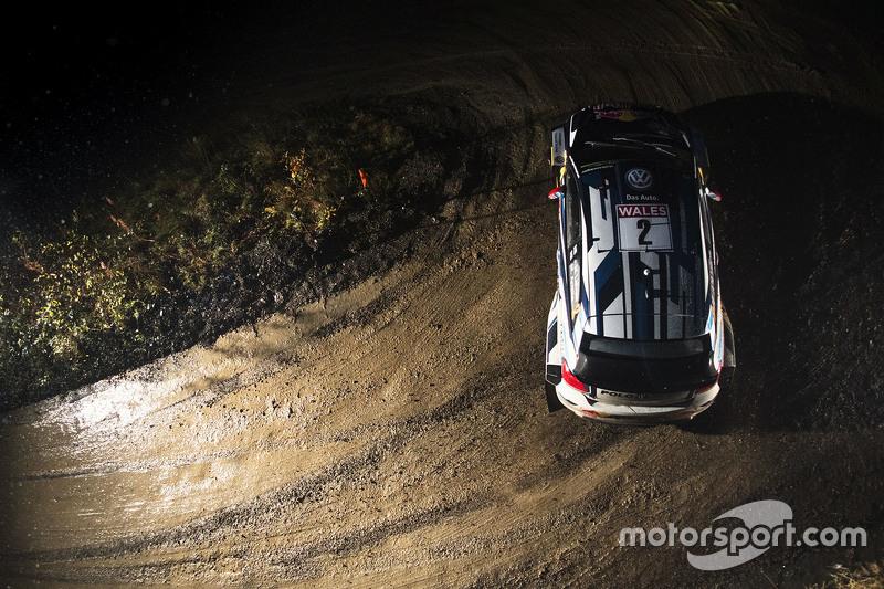 #4: Jari-Matti Latvala und Miikka Anttila bei der Rallye Wales