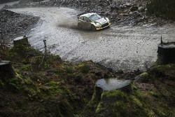 Josh Moffet abd John Rowan, Ford Fiesta RS WRC