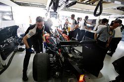 Le garage McLaren