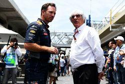 Christian Horner and Bernie Ecclestone
