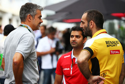 Дітер Гасс, Audi Sport Head of DTM, з Сиріл Абітебул, Renault Sport F1 Managing Director