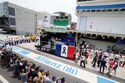 F1 presta homenagem às vítimas da tragédia de Paris