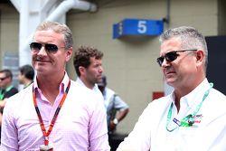 David Coulthard und Gil de Ferran