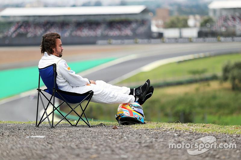 7. Fernando Alonso em Interlagos