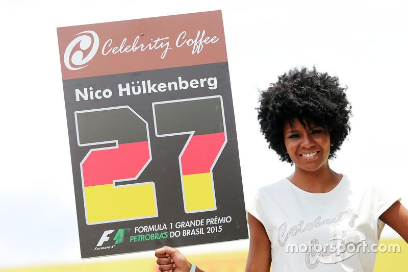 Gridgirl vonNico Hülkenberg, Sahara Force India F1
