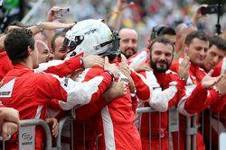 Third place Sebastian Vettel, Scuderia Ferrari