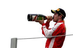 Podioa: terzo Sebastian Vettel, Scuderia Ferrari
