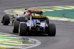 Фелипе Наср, Sauber F1 Team и Пастор Мальдонадо, Lotus F1 Team