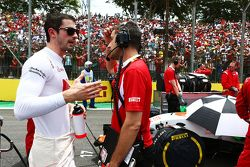 Alexander Rossi, Manor Marussia F1 Team sur la grille