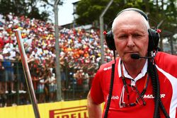 John Booth, Team Principal Manor Marussia F1 Team sur la grille