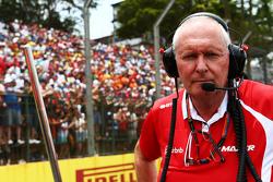 John Booth, Manor Marussia F1 Team Team Principal on the grid
