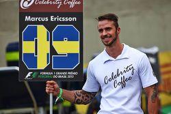 Un Grid Boy pour Marcus Ericsson, Sauber F1 Team