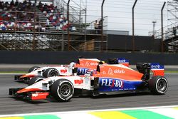 Alexander Rossi, Manor Marussia F1 Team et son équipier Will Stevens, Manor Marussia F1 Team