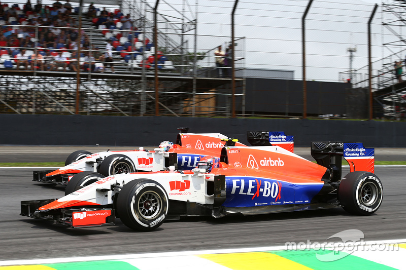 Alexander Rossi, Manor Marussia F1 Team y su compañero, Will Stevens, Manor Marussia F1 Team
