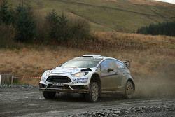 Ott Tanak e Molder Raigo, M-Sport Ford Fiesta WRC