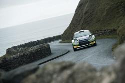 Sam Moffet et Karl Atkinson, Ford Fiesta RS WRC