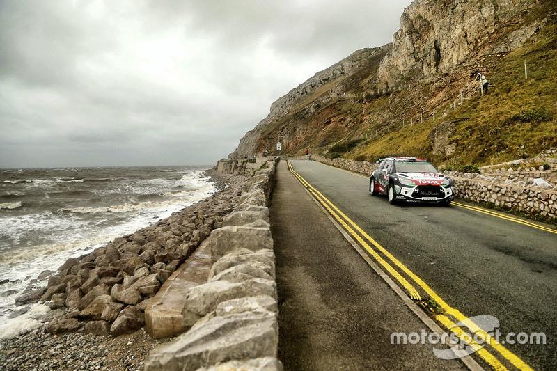 Kris Meeke und Paul Nagle, Citroën DS3 WRC