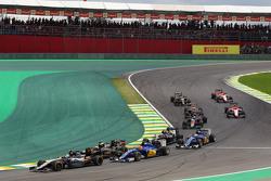 Серхио Перес, Sahara Force India F1 VJM08 на старте гонки