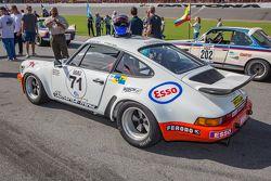 Classic Porsche en la parrilla