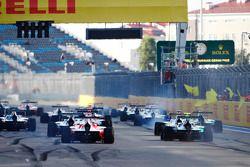 Race 1 start actie